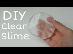 DIY Clear Slime || DIY Slime deutsch || Slime selber machen ohne Boraxpulver,Washmittel || DIY 4 You - YouTube