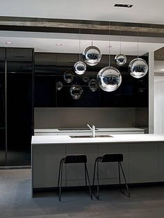 Boffi | kitchen. Mirror balls available at Property Furniture.