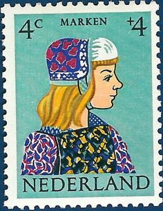 Children charity stamps are distributed each year by the Dutch Post and you can buy them at every post office in The Netherlands. There is an extra charge on the stamps, which is intended for cultural, social or health projects. In 1960, the children stamps were designed by Jeanna Bieruma Oosting, one of the most prominent Dutch graphic artists in that time.