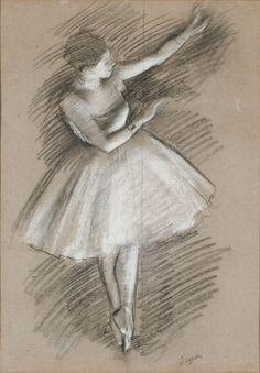 Danseuse en blanc - Edgar Degas - Edgar Degas - Wikipedia, la enciclopedia libre