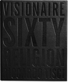 Visionaire book, N 60 : Religion, by fashion designer Riccardo Tisci _