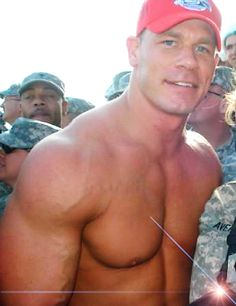 Another vision of perfection!!!                          John Cena