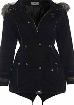 SS7 Clothing Black OVERSIZED HOOD Parka Womens Coat Sizes 8 - 24 (20) Your festival season BFF, this black parka jacket is a wise wardrobe investment. Features two front pockets, faux fur trimmed hood, and fishtail. (Barcode EAN = 3105570515194). http://www.comparestoreprices.co.uk/december-2016-week-1/ss7-clothing-black-oversized-hood-parka-womens-coat-sizes-8--24-20-.asp