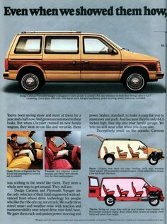 1985 Dodge Caravan  & Plymouth Voyager - part 1