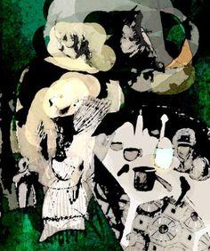 The Hungarian Chamber Art Print New Media, Saatchi Art, Artworks, Ink, Artist, Anime, Fictional Characters, Artists, Cartoon Movies