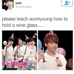 gripping that glass...