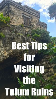 Visiting the Tulum ruins in Mexico's Riviera Maya is a must if you are in the area. Throughout the Riviera Maya, the ancient Maya culture is fascinating, and the ruins in Tulum in particular are easy to visit and a fun way to work in a little history to your family beach vacation.  Here's what you need to know if you plan on visiting!