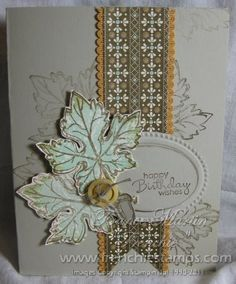 Stamp & Scrap with Frenchie: Stampin'Up! Gently Falling