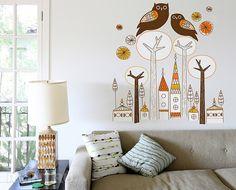 Дерево на стене: 19 интересных идей для украшения интерьера:
