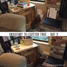 Still working my way through Kathi Lipp's Kickstart to Clutter Free eCourse