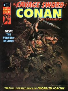 Pretty sure I have this one. Savage Sword of Conan #6. The Lurkers Below.  #Conan
