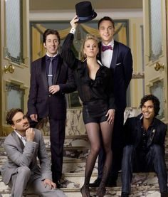 The Big Bang Theory - this is messing with me a bit, because my nerds are hot, even Howard!!!