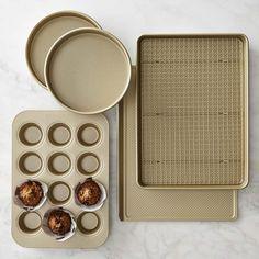 Williams-Sonoma Goldtouch® Nonstick 6-Piece Essentials Bakeware Set #williamssonoma