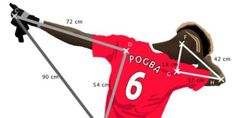 Paul Pogba's trademark dab celebration is being used to teach children math. Add in Cam Newton and have kids do the math to see who's dab is the best! Right triangle trig Geometry Lessons, Teaching Geometry, Math Lessons, Teaching Math, Math Skills, Math For Kids, Fun Math, Math 8, Football