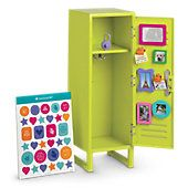 American Girl® Accessories: School Locker Set from American Girl. Shop more products from American Girl on Wanelo. Ropa American Girl, American Girl Doll Room, American Girl Furniture, Girls Furniture, American Girl Crafts, Doll Furniture, American Dolls, American Girl Stuff, American Girl House