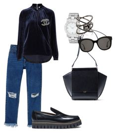 """""""Simple set. Wild accessorizes"""" by tata-kazarian on Polyvore featuring Monki, Witchery, Ganni, Marc by Marc Jacobs, Eva Fehren, Gentle Monster and Chanel"""