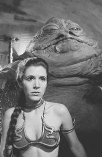 Slave Leia  and Jabba
