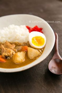 Still have some Japanese curry roux left over so wanna make curry one of these dayssss :DD Japanese Chicken Curry   JustOneCookbook.com