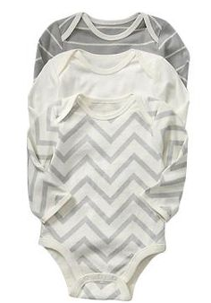 Old Navy Chevron onesies - definitely getting this in the 18-24 months!