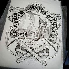 1634 Meilleures Images Du Tableau Tatouages Vikings Tattoo Sleeves