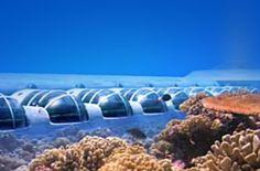 Underwater hotel Poseidon in Fiji
