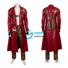 Devil May Cry 3 Dante Cosplay Costume – CosplayClass