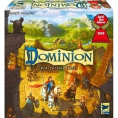 Dominion - a very good board game, three years old already but not everybody might own it yet.