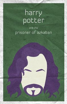 Minimalist movie poster for Harry Potter and the Prisoner of Azkaban.  See the others here.