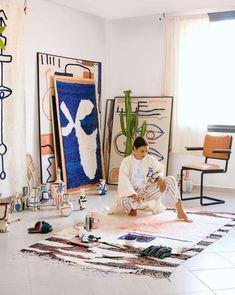 Decoration: immersion in Berber lunettes of the LRNCE label - - Painting Inspiration, Art Inspo, Studios D'art, Plakat Design, Guache, Art Design, Artist At Work, Home Art, Art Drawings