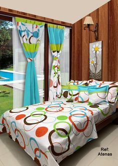 Valance Patterns, Bed Cover Design, Designer Bed Sheets, Home Design Living Room, Bedroom Decor For Couples, Bed Sets, Curtain Designs, Indian Home Decor, Colorful Curtains