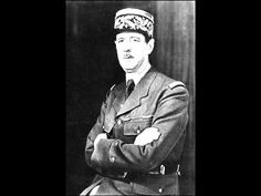 Charles de Gaulle's speech after the liberation of Paris, August 1944
