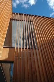 Image result for vertical timber batten cladding