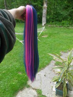 My Little Pony Twilight Sparkle Purple/Pink Cosplay Tail MLP Costume Dusk Shine