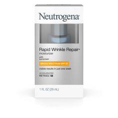 Neutrogena® Rapid Wrinkle Repair® Moisturizer with Broad Spectrum SPF 30 Sunscreen- 1 Fl. Oz : Target