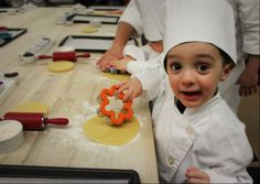A pastry chef in the making. #FSTaste