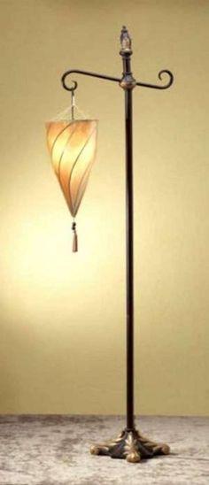 Spiral Hanging Floor Lamp - Foter