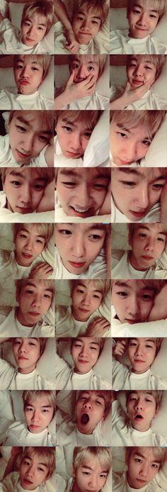 Baekhyun This cutie stayed up even tho he's sleepy gosh I love him Chanyeol Baekhyun, Park Chanyeol, Exo Lockscreen, Sad Faces, Exo Members, Chanbaek, Kpop Boy, K Idols, Boyfriend Material