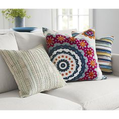 Syd, Matilda and Kipton Pillows I Crate and Barrel