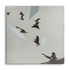 Goedkope vliegtuig vliegen in de lucht muurschildering vinyl kunst aan ...