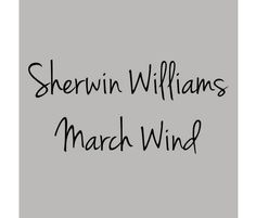 SW March Wind, light grey paint colors- can't decide if I should paint my kitchen cabinets this color, or the white shaker. Decisions, decisions....