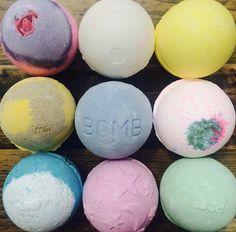 Choose your bathbomb!