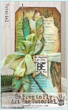Tammy Tutterow Tutorial | Be Free to Fly