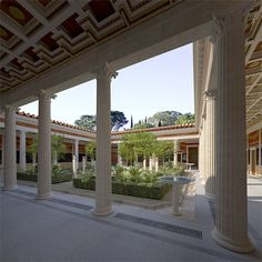 This reconstruction of the Villa at Boscoreale was undertaken for THE METROPOLITAN MUSEUM OF ART in New York .