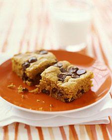 Pumpkin Chocolate Chip Squares - yummy!