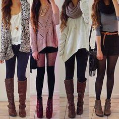 .@rinasenorita   Winter Lookbook featuring @DAILYLOOK @DAILYLOOK   Which one would you wear 1,...   Webstagram