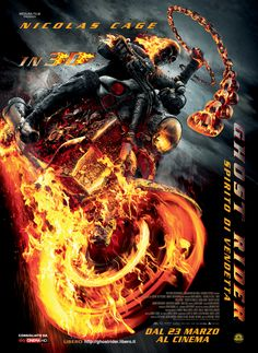 Ghost Rider II - The last 10 minutes is worth the admission price. Hard to buy Nick Cage being serious, he just does not have the voice or facial features to sell it. The DVD\Blu-Ray should have a lot more to offer with the behind the scenes footage. Great camera work and special effects!
