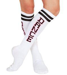 """DANCE"" Tube Socks,T1418,multi-colored,One-Size Trendy Trends. $8.65"