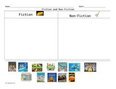 FREEBIE Fiction and Non-Fiction Picture Sort