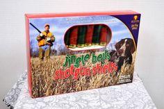Keystone Products Novelty 10 Light String Jingle Bells Shotgun Shells Red Green #KeystoneProducts