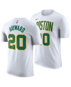 2c8e61667 Nike Men s Gordon Hayward Boston Celtics City Player T-Shirt 2018 - White M